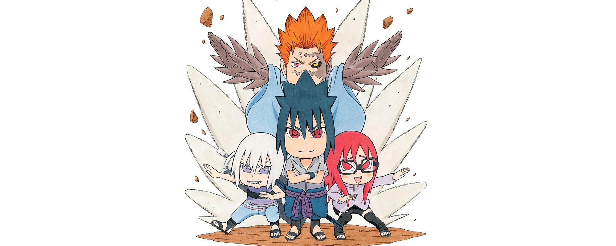 Viz Read Naruto Chibi Sasuke S Sharingan Legend Manga Official Shonen Jump From Japan