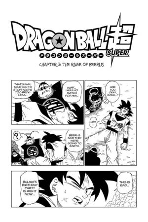 VIZ | Read Dragon Ball Super, Chapter 3 Manga - Official