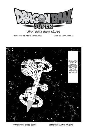 Viz Read Dragon Ball Super Chapter 50 Manga Official Shonen