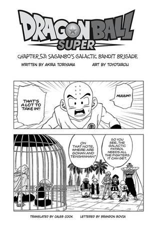 VIZ | Read Dragon Ball Super, Chapter 53 Manga - Official