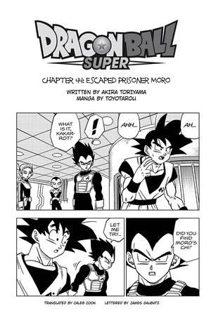 VIZ | Read Dragon Ball Super, Chapter 44 Manga - Official