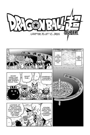 Viz Read Dragon Ball Super Chapter 35 Manga Official Shonen