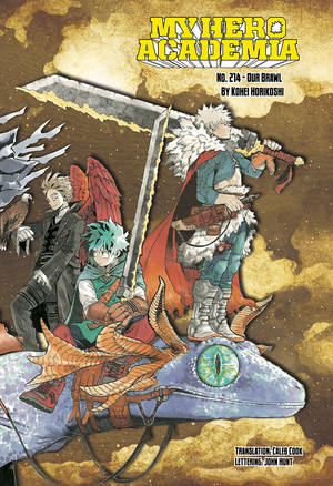 VIZ | Read My Hero Academia, Chapter 214 Manga - Official