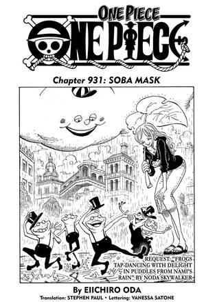VIZ | Read One Piece, Chapter 931 Manga - Official Shonen