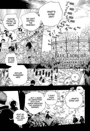 BLUE EXORCIST MANGA RELEASE DATES