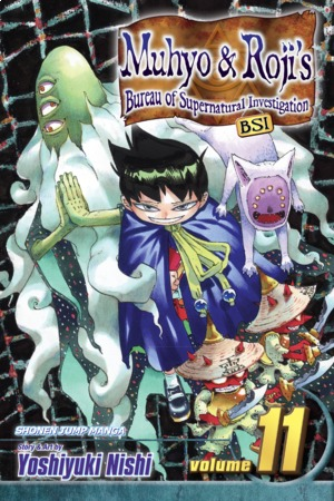 Muhyo & Roji's Bureau of Supernatural Investigation Vol. 11: Rescue Mission