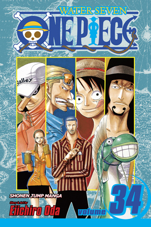 One Piece Vol. 34: The City of Water, Water Seven