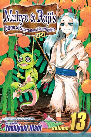 Muhyo & Roji's Bureau of Supernatural Investigation Vol. 13: A New Book of Magic Law