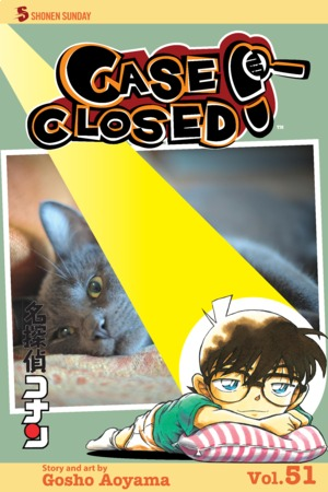 Case Closed Vol. 51: The Cat Who Read Japanese
