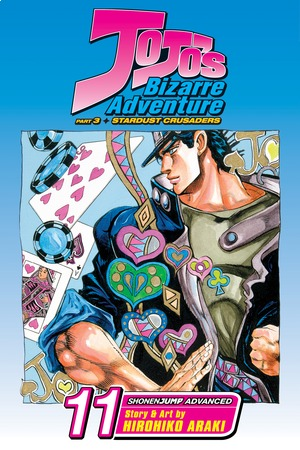 JoJo's Bizarre Adventure: Stardust Crusaders--Part 3 Vol. 11: D'Arby the Gambler