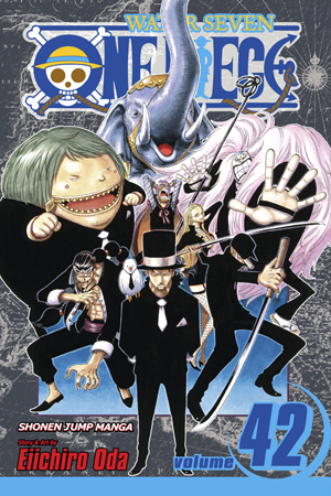 One Piece Vol. 42: Pirates vs. CP9