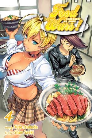 Food Wars! Vol. 4: Food Wars!, Volume 4