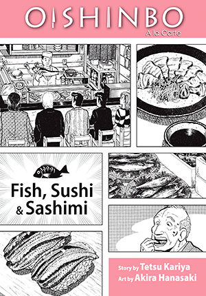Oishinbo: Fish, Sushi and Sashimi, Volume 4