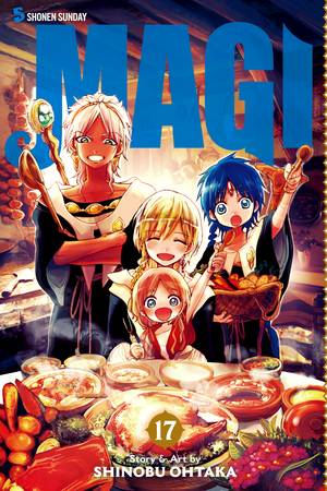 Magi Vol. 17: Magi: The Labyrinth of Magic, Volume 17