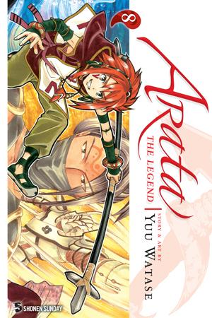 Arata: The Legend Vol. 8: Arata: The Legend, Volume 8