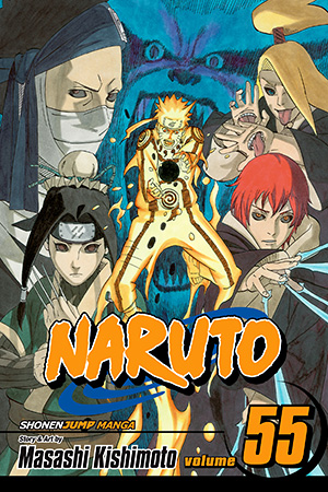 Naruto Vol. 55: The Great War Begins