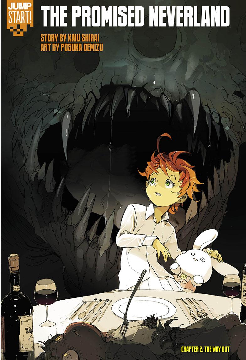 Resultado de imagen para The Promised Neverland manga