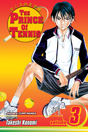 The Prince of Tennis Vol. 3: Street Tennis