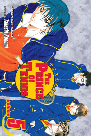 The Prince of Tennis Vol. 5: New Challenge