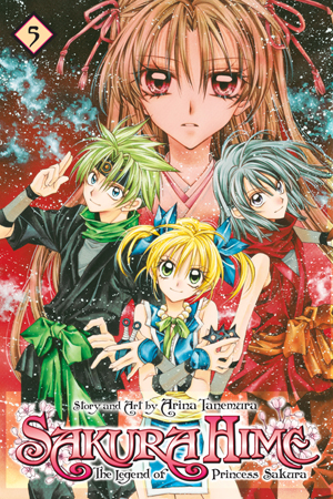 Sakura Hime: The Legend of Princess Sakura, Volume 5