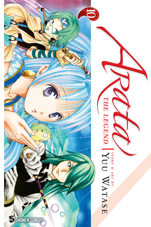 Arata: The Legend, Volume10