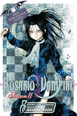 Rosario+Vampire: Season II Vol. 8: The Secret of the Rosario