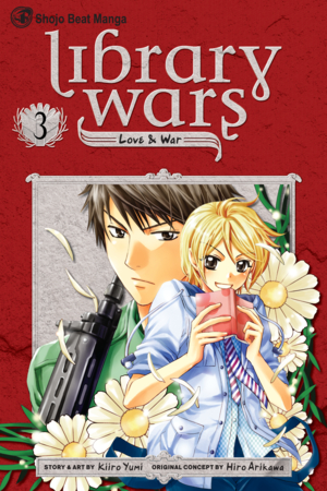 Library Wars: Love & War, Volume 3