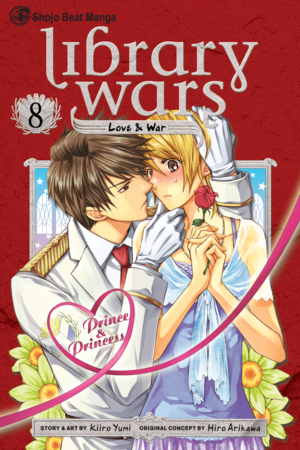 Library Wars: Love & War, Volume 8