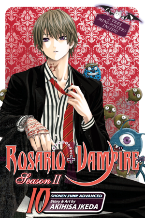 Rosario+Vampire: Season II Vol. 10: Kidnapped