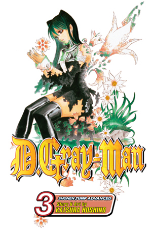 D.Gray-man Vol. 3: The Rewinding City