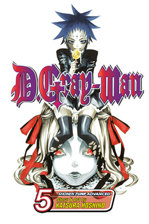 D.Gray-man Vol. 5: Announcement