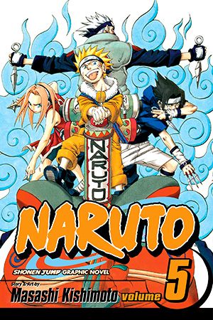 Naruto Vol. 5: The Challengers