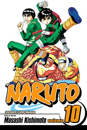 Naruto Vol. 10: A Splendid Ninja