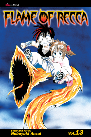 Flame of Recca Vol. 13: Flame of Recca, Volume 13