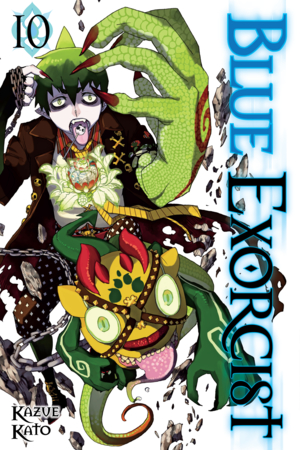 Blue Exorcist Vol. 10: Blue Exorcist, Volume 10