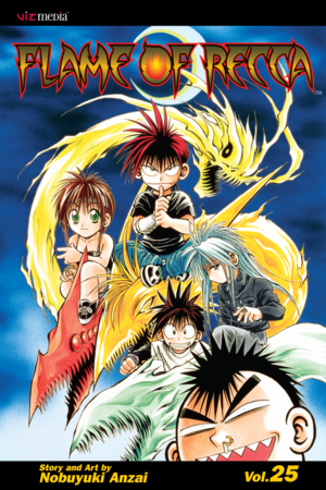 Flame of Recca Vol. 25: Flame of Recca, Volume 25