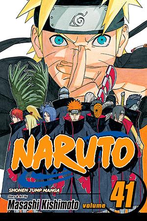 Naruto Vol. 41: Jiraiya's Decision