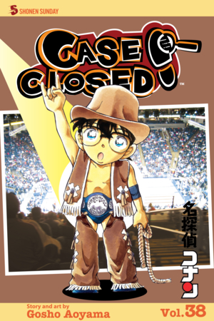 Case Closed Vol. 38: On the Ropes