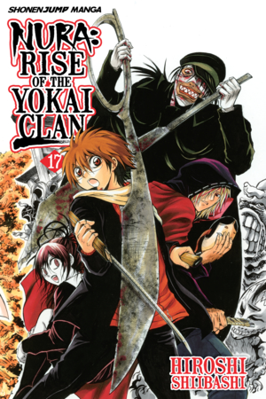Nura: Rise of the Yokai Clan Vol. 17: Kirisaki Toryanse, The Ripper