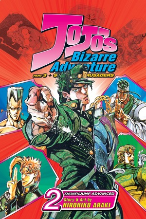 JoJo's Bizarre Adventure: Stardust Crusaders--Part 3 Vol. 2: Silver Chariot