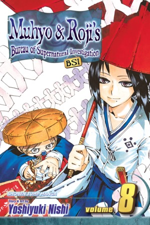 Muhyo & Roji's Bureau of Supernatural Investigation Vol. 8: Bonds