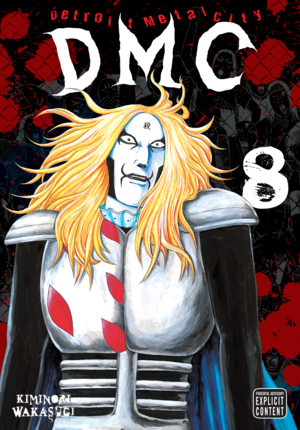 Detroit Metal City Vol. 8: Detroit Metal City, Volume 8