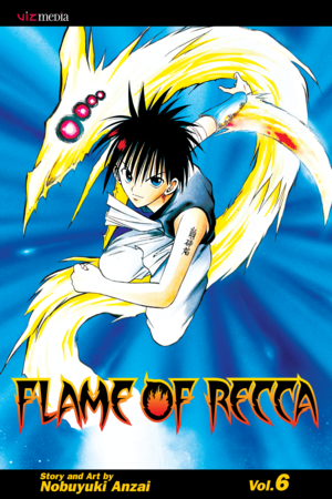 Flame of Recca Vol. 6: Flame of Recca, Volume 6