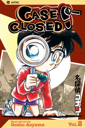 Case Closed Vol. 2: Case Closed, Volume 2