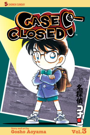 Case Closed Vol. 3: Case Closed, Volume 3