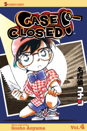 Case Closed Vol. 4: Case Closed, Volume 4