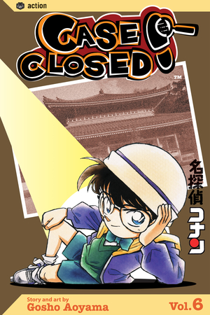 Case Closed Vol. 6: Case Closed, Volume 6